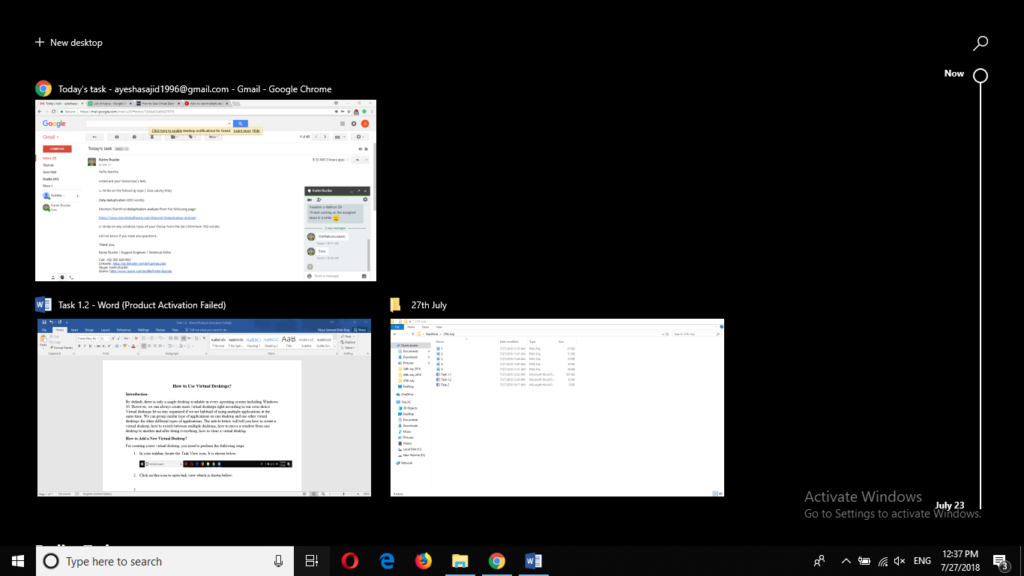 Windows Virtual Desktops