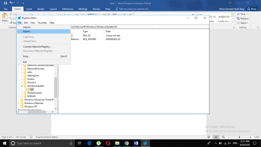 How to Create and Edit a Windows 10 Registry File