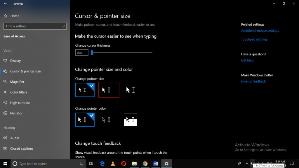 How to Change the Mouse Pointer Size in Windows 10