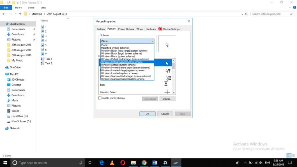 Windows default large (system scheme)