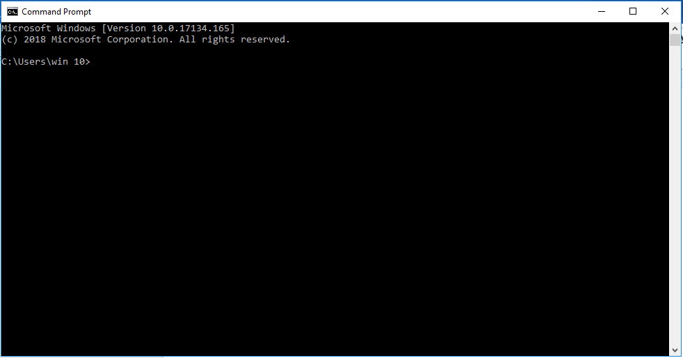 Open Windows Command Prompt