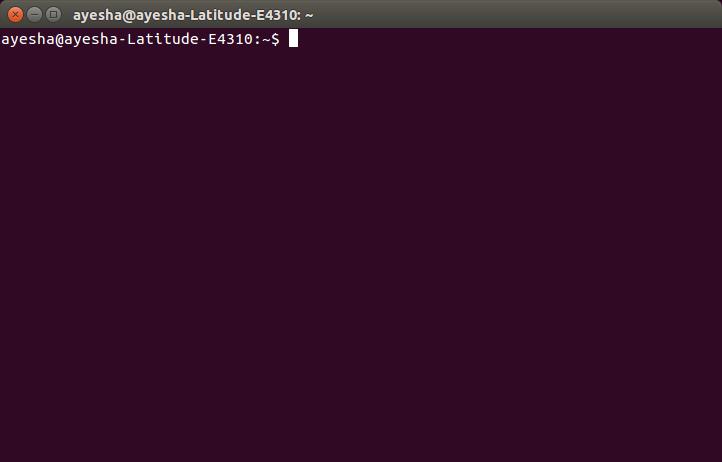Open Linux console