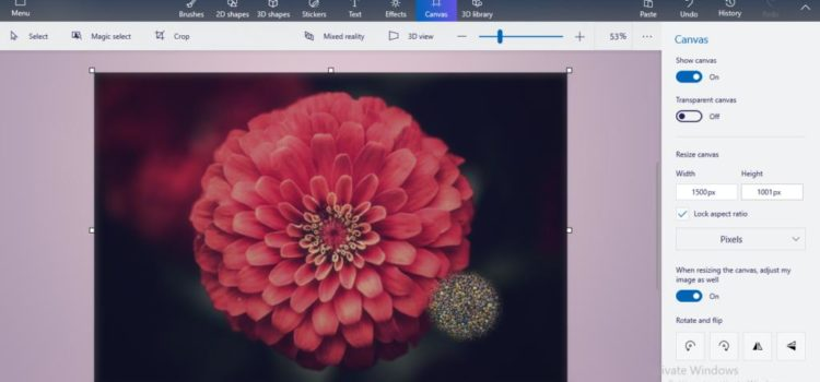 How to Resize and Edit Images in Windows 10