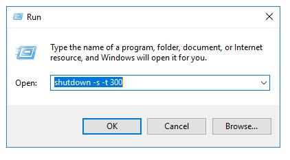 Timed Windows Shutdown