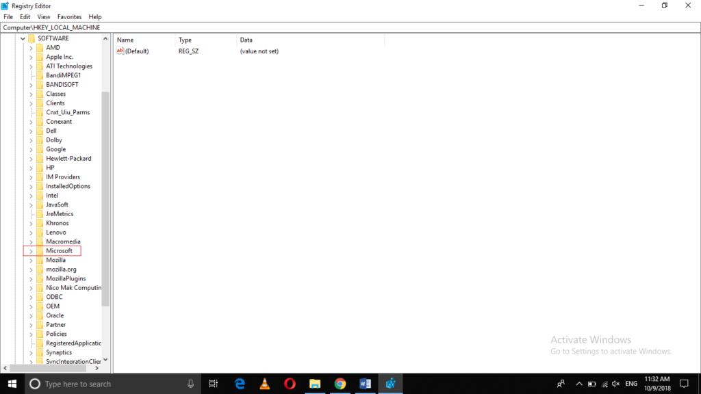 Open Microsoft Folder