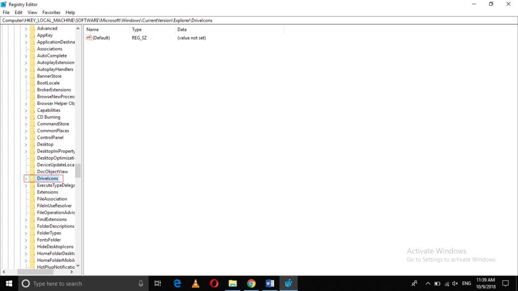DriveIcons Folder