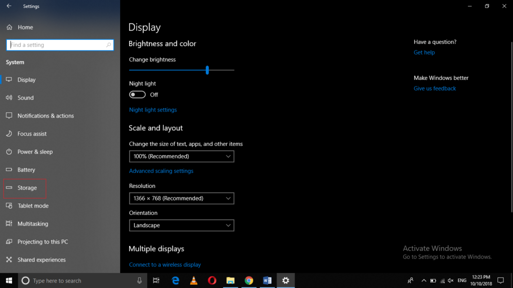 how to free up hard drive space in windows 10