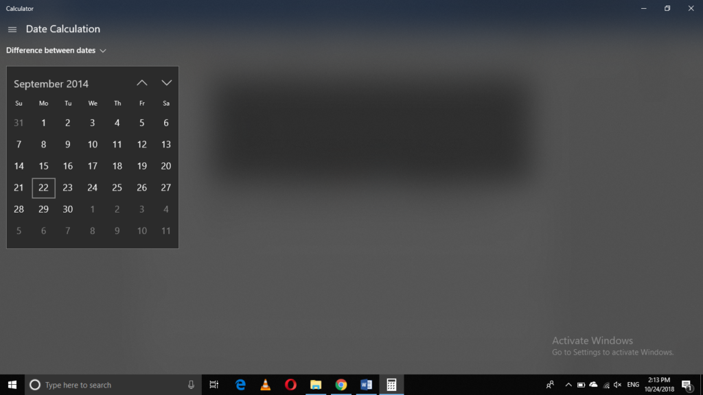 How to Perform Date Calculations in Windows 10 Calculator