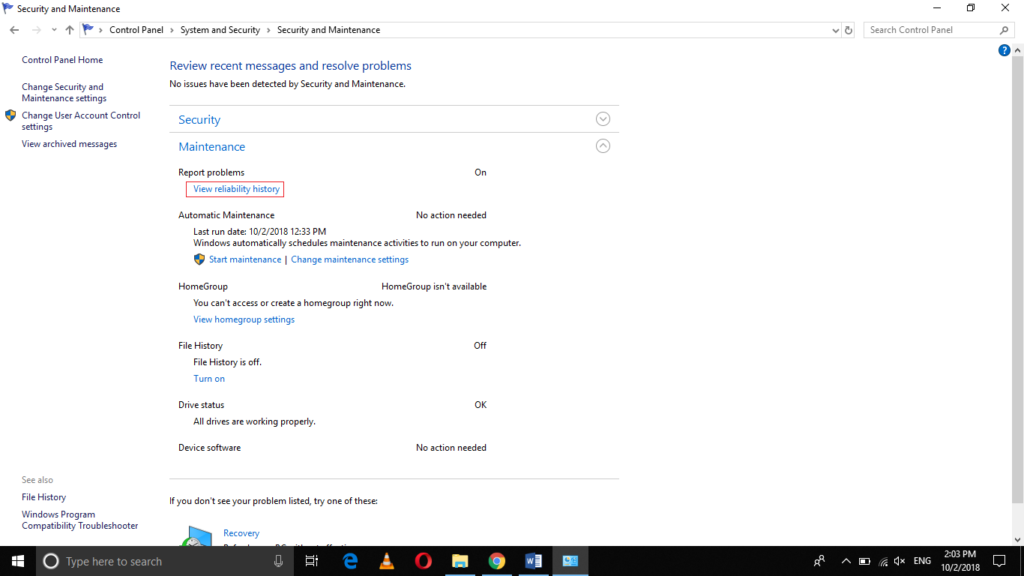 how to clear a recent list in windows 10