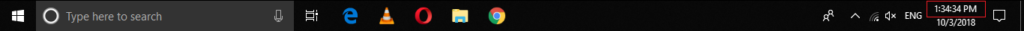 Windows Clock shows seconds in Taskbar