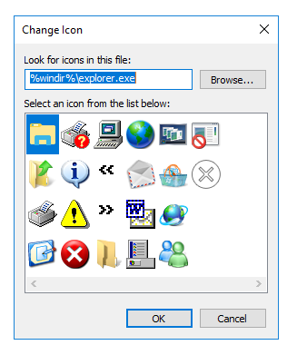 how to change icon of text file windows 10