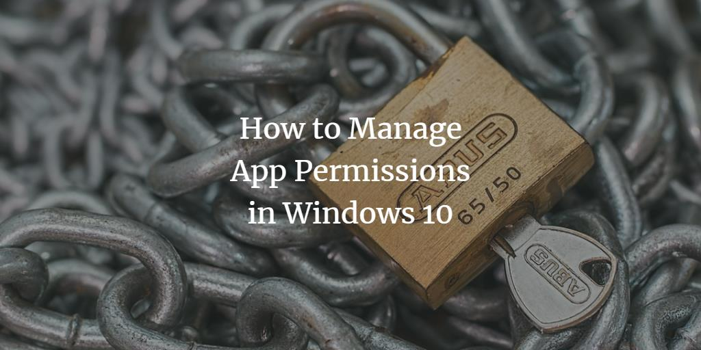 Windows App permissions