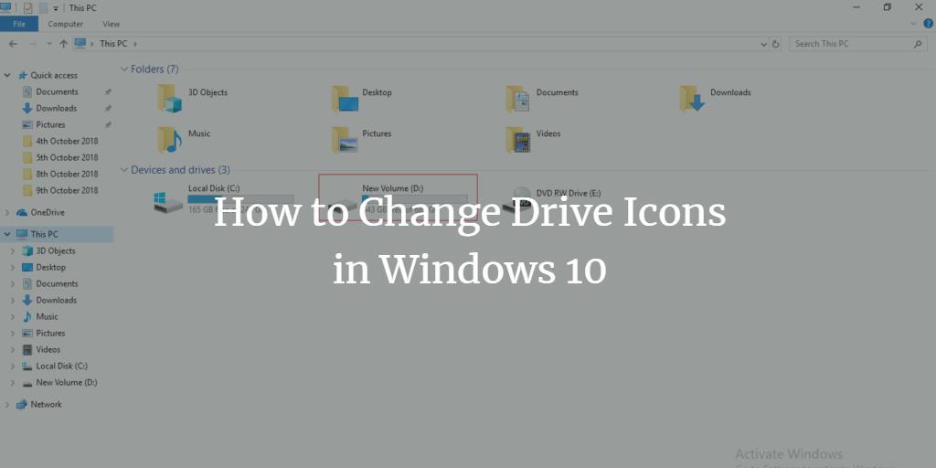 Change Windows Drive Icon