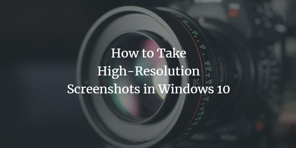 Windows Screenshots