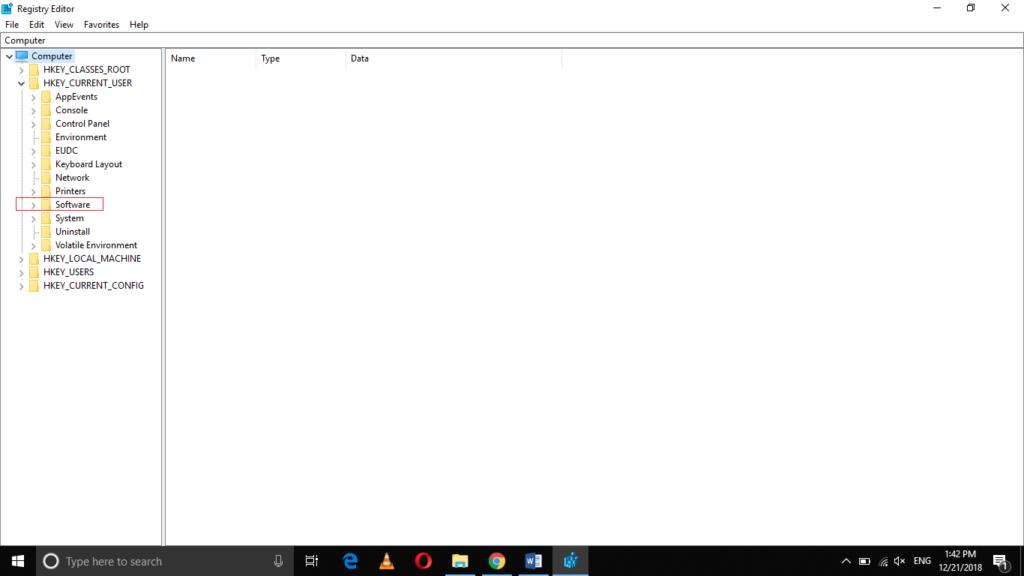 Software sub folder