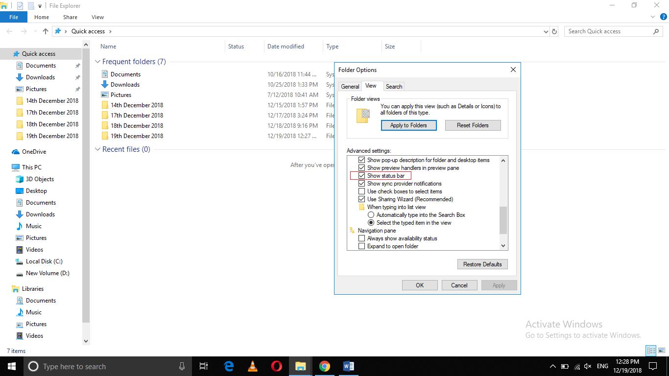 Check Windows Firewall Status Notification Disable