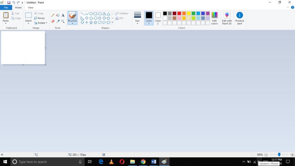 Paint Image Editor