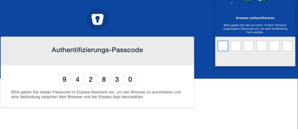 Password code