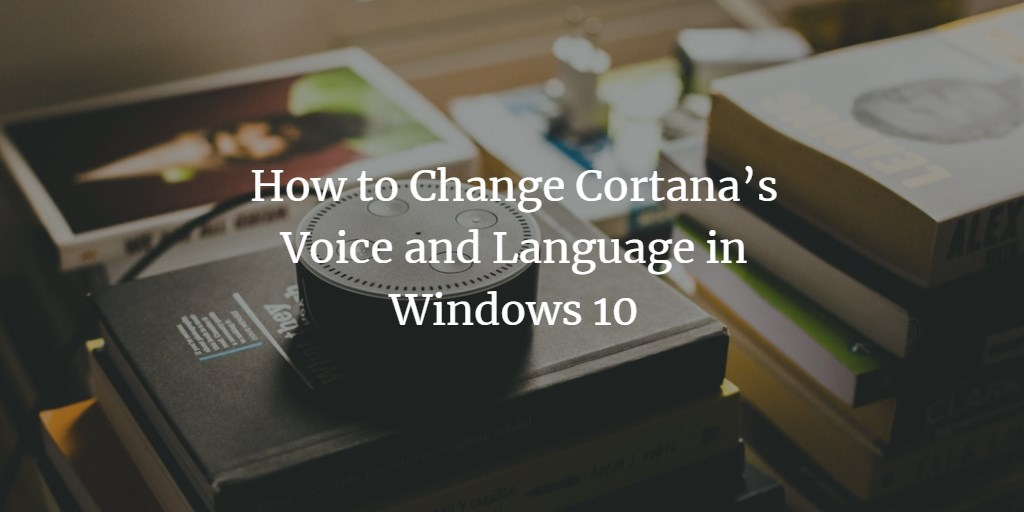 Cortana language