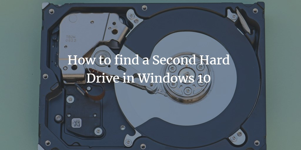 Find second Windows HD