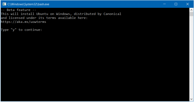 Bash Shell in Windows