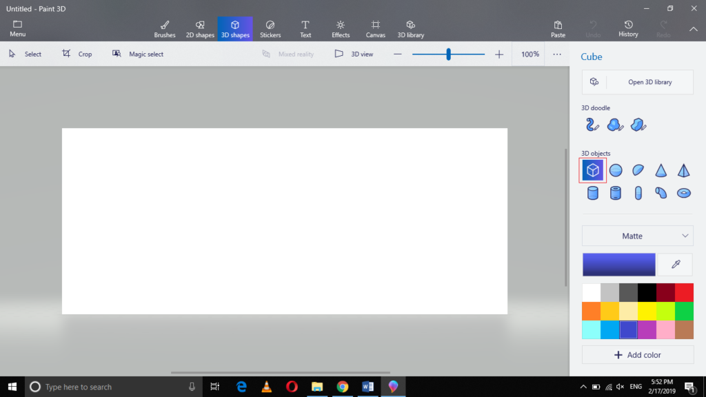 , How to Rotate and Resize the Objects in Paint 3D