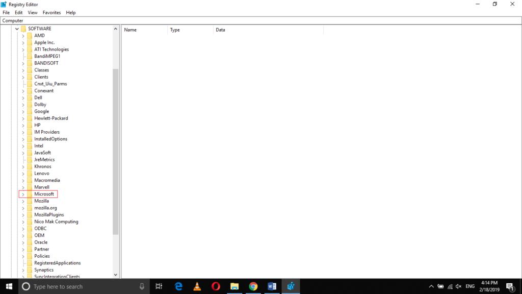 Microsoft folder