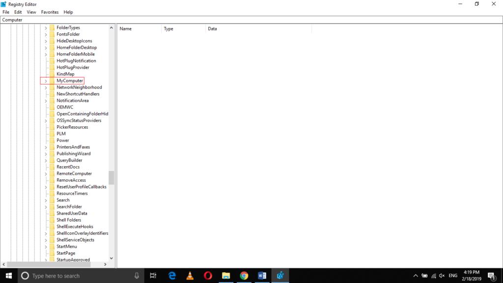 MyComputer folder