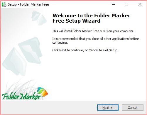 FolderMarker installer