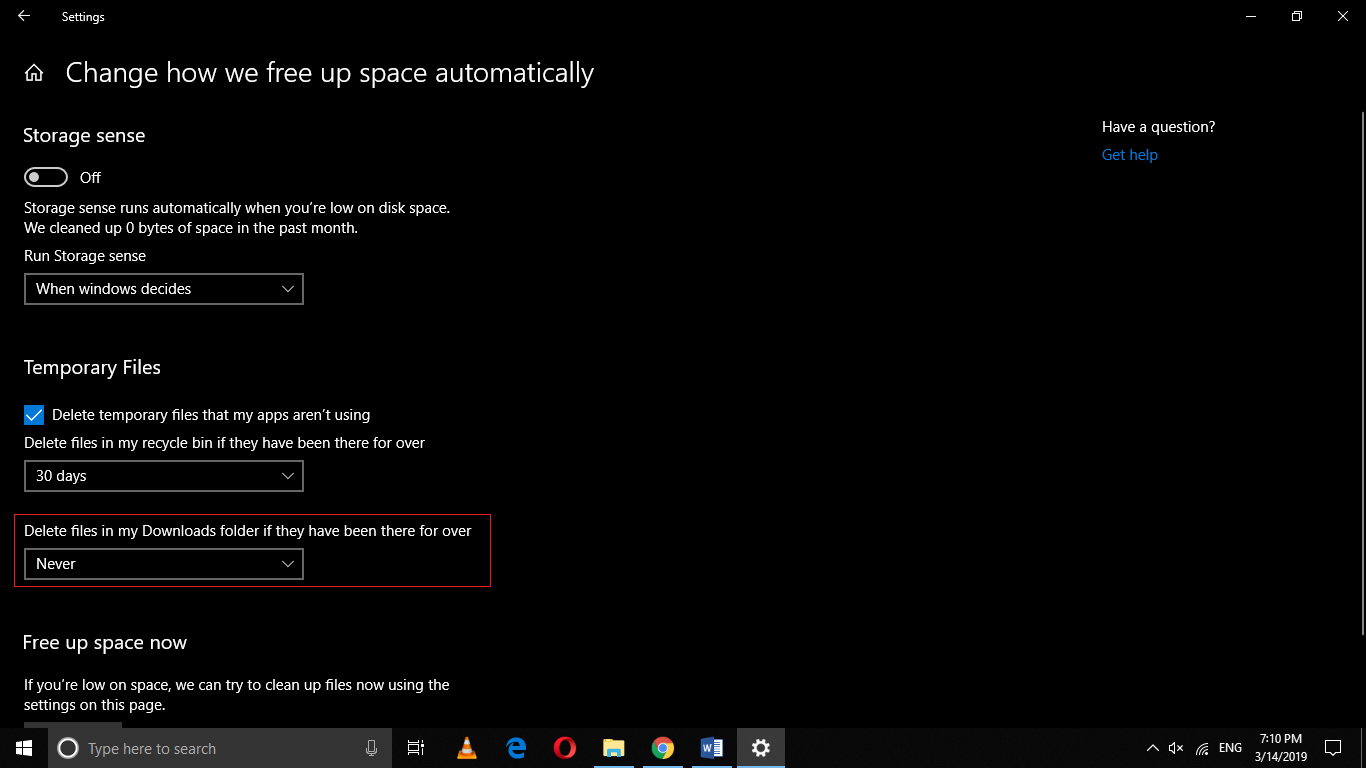 , How to Prevent Storage Sense from Deleting Your Downloaded Files on Windows 10