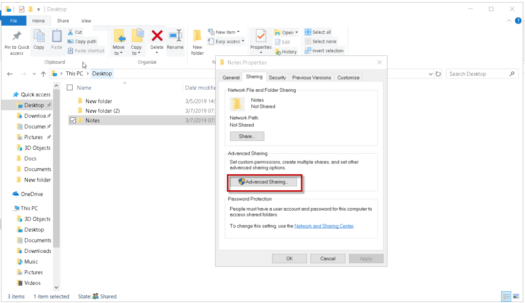 , How to Share Files and Folders in Windows 10