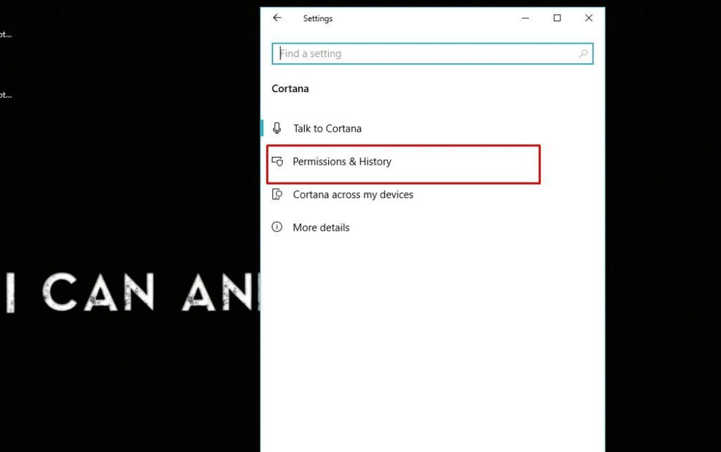 , How to Clear Personal Information from Cortana in Windows 10
