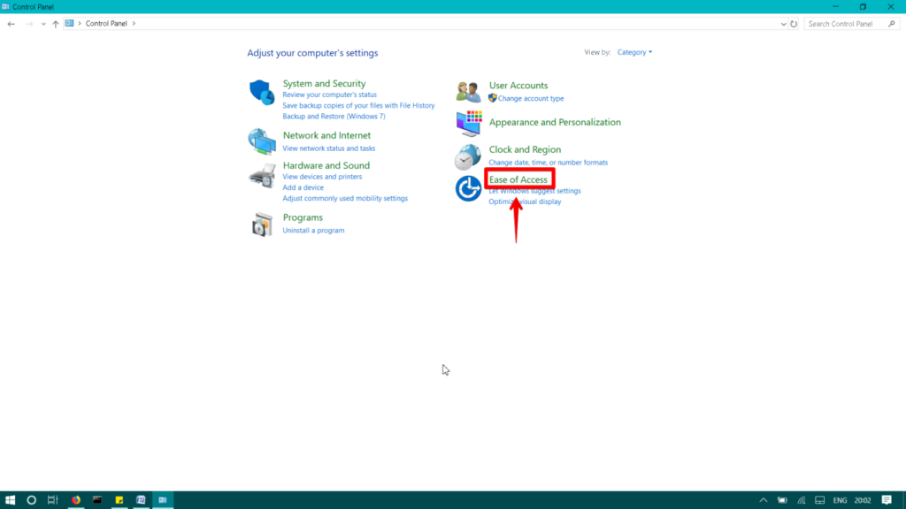 , How To Enable And Disable Sticky Keys in Windows 10