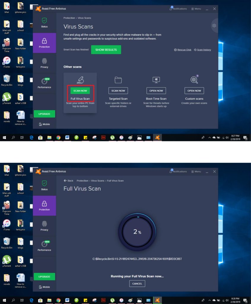 , How to Remove Viruses and Malware in Windows 10