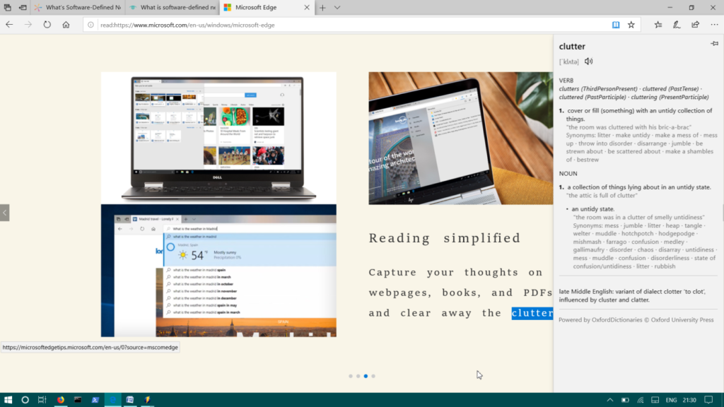 , How to Use Microsoft Edge's Built-in Dictionary