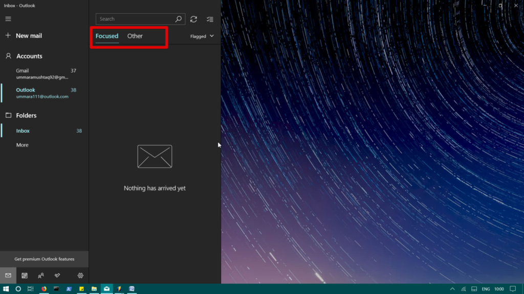 , How to Enable or Disable Focused Inbox in Windows 10 Mail