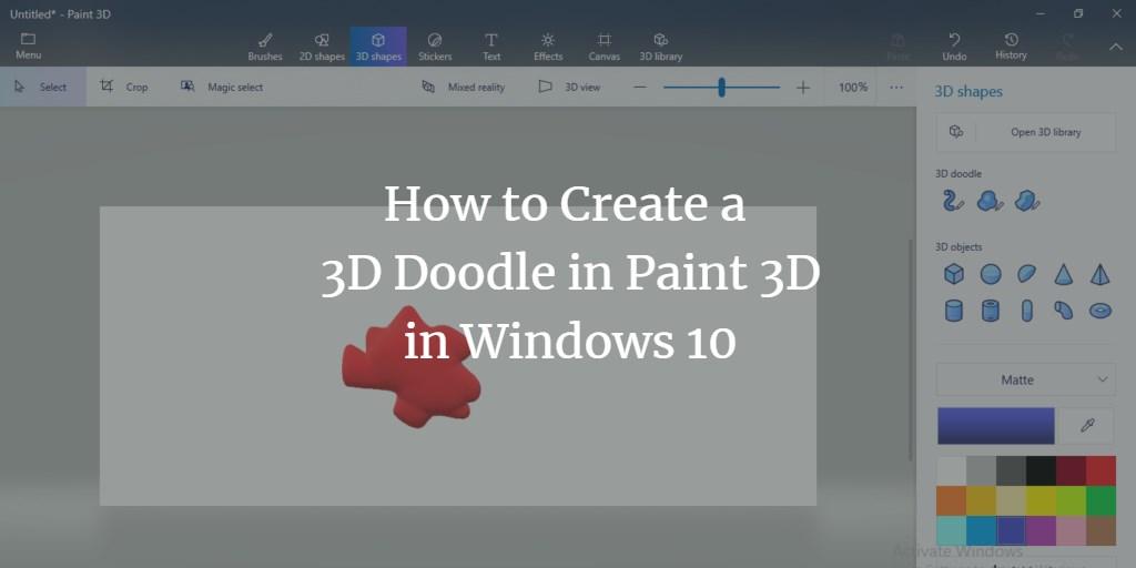 3D Doodle