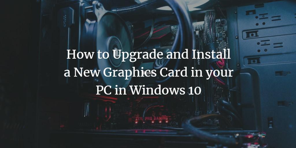 Windows Graphics Card