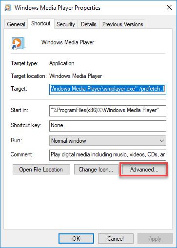 Advanced file properties