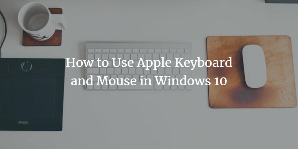 Windows apple mouse keyboard