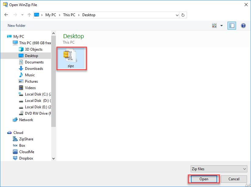 ZipX File