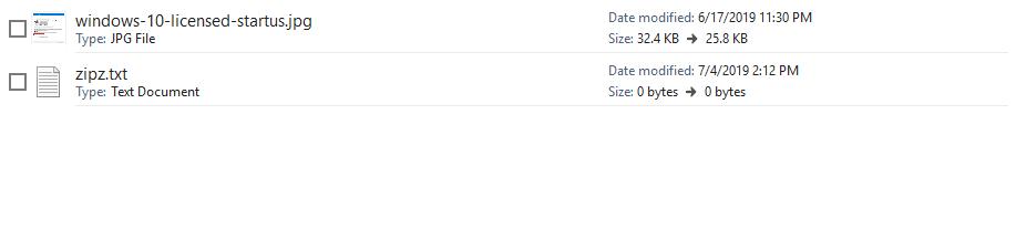 Open ZipX File
