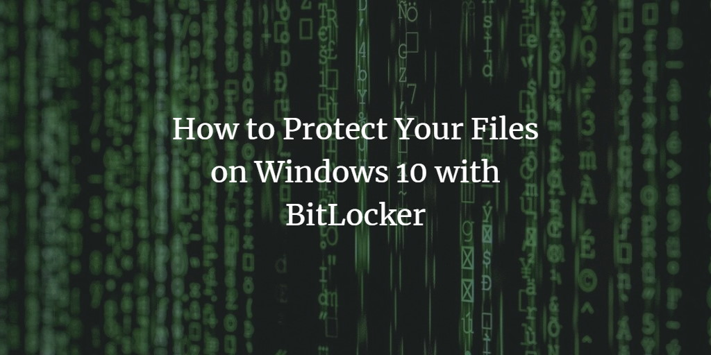 Windows BitLocker