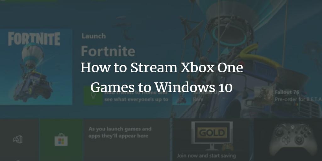 Windows 10 XBox Connect