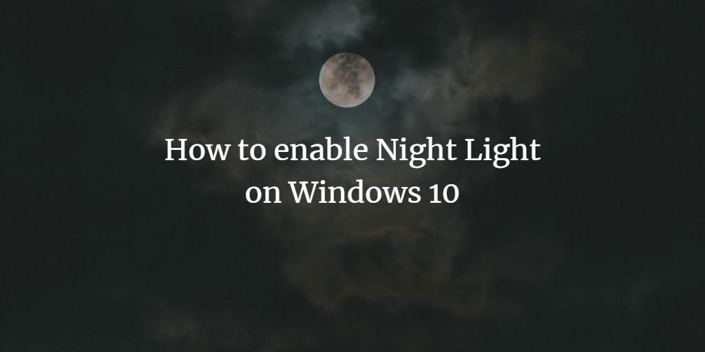 Windows Night Light