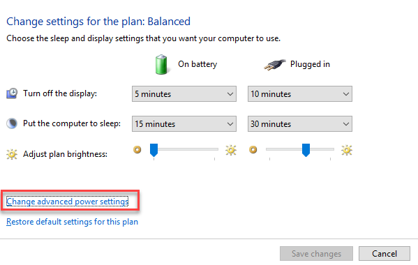 , How to change the lock time in Windows 10