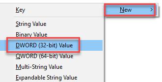 DWord 32 bit