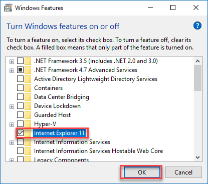, How to open old web pages on Windows 10 in Internet Explorer