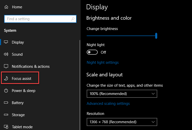 , How to remove Annoying Focus Assist Notifications from Windows 10