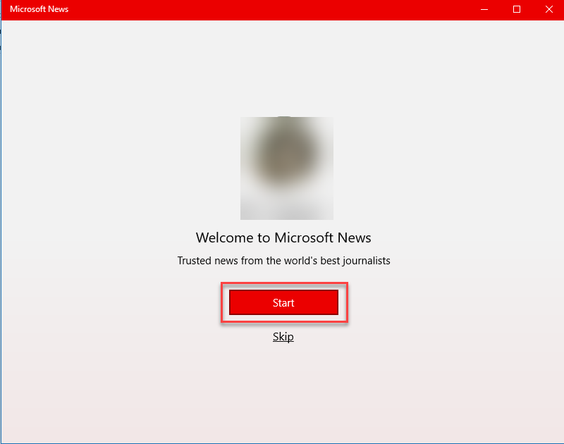 , How to configure the News app in Windows 10